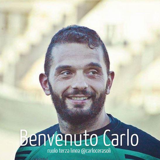 Carlo Cerasò Cerasoli, classe 1984 - ex Fiamme Oro e L'Aquila Rugby