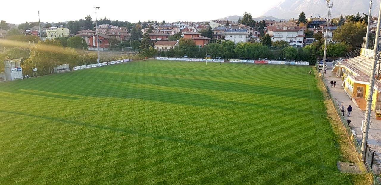 Campo da Rugby in erba - Avezzano