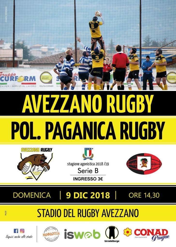Doppio derby al Gladioli; la B sfida Paganica e la 18 incontra L'Aquila - Locandina