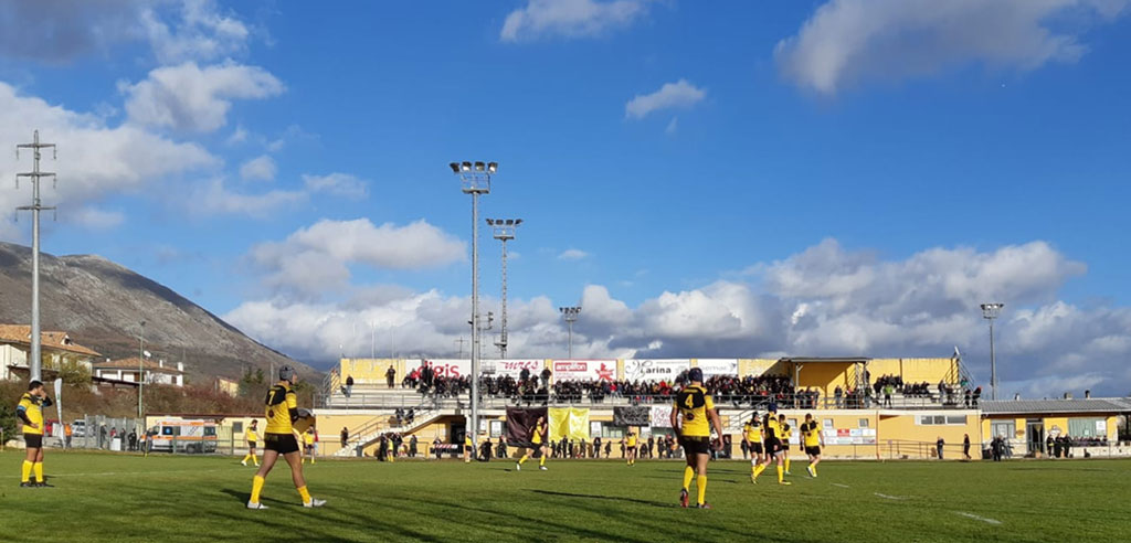 derby - avezzano rugby paganica - stadio
