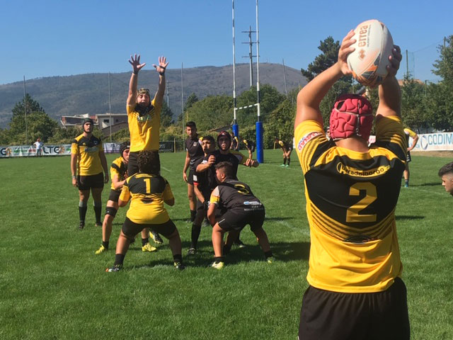 touche line-out avezzano rugby