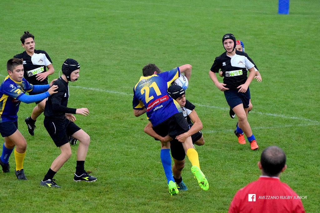 Andrea Potenza - Avezzano Rugby  placcaggio
