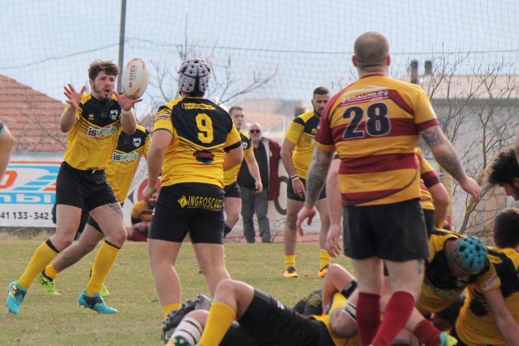 Simone Lanciotti, mischia - avezzano rugby