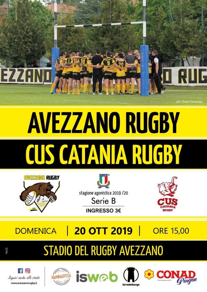 Serie B prima di campionato - avezzaon rugby