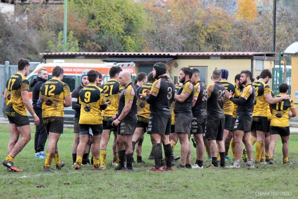 avezzano vs messina - saluto, corridoio rugby