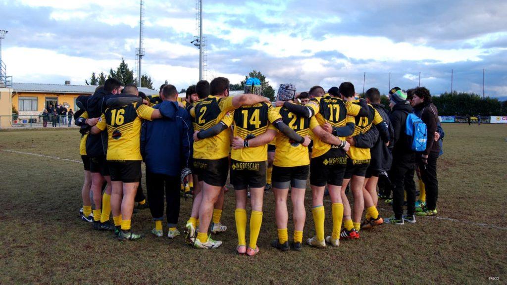 Avezzano Rugby - fine partita