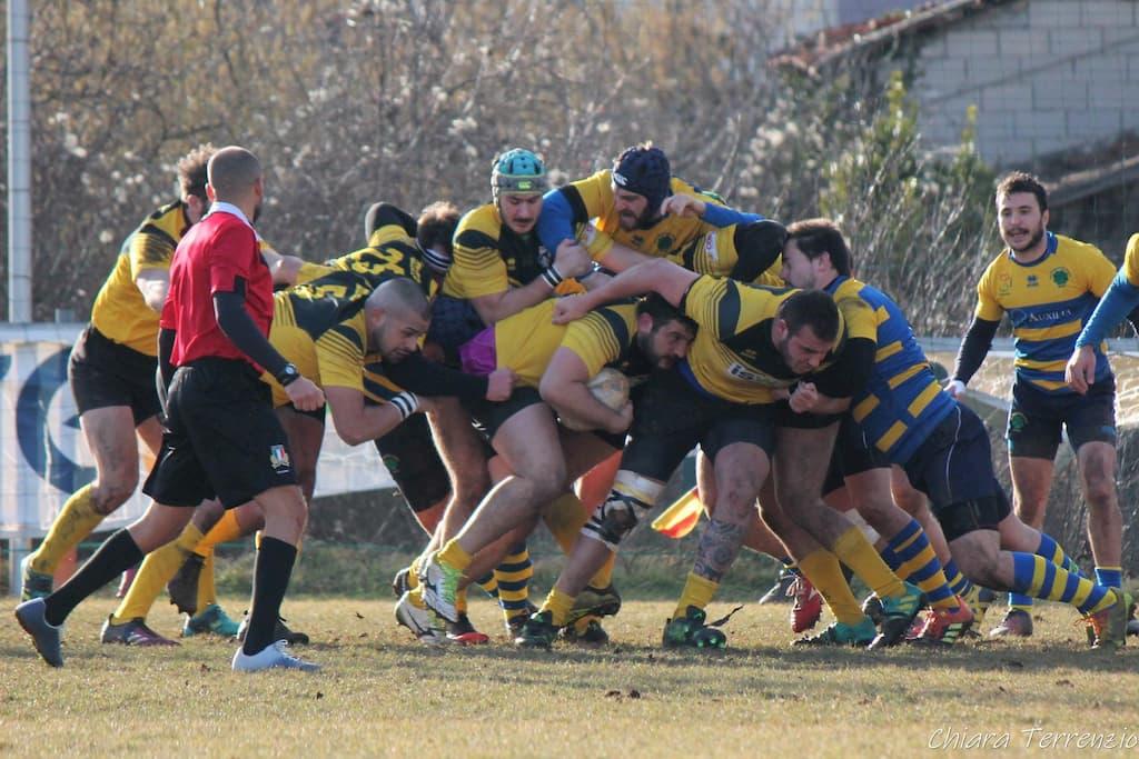 Nicola Rettagliata - Avezzano Rugby, mischia