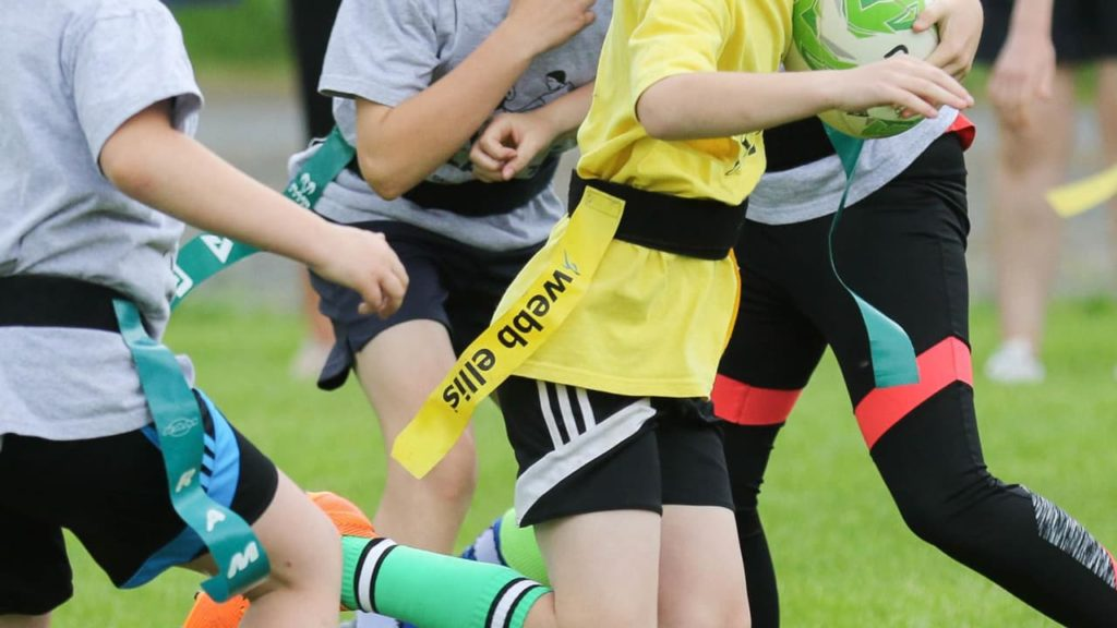 Tag rugby, definito anche flag rugby