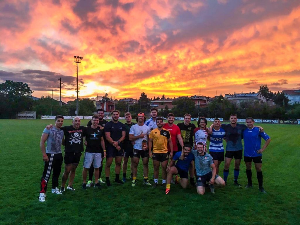 Tramonto Avezzano, campo da rugby