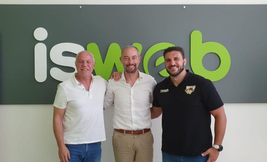 IsWeb Avezzano Rugby - nuovo accordo commerciale
