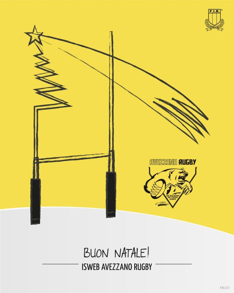 Buon Natale, ISWEB Avezzano Rugby